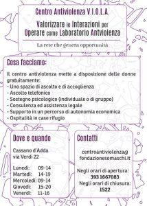Centro antiviolenza di Cassano d'Adda