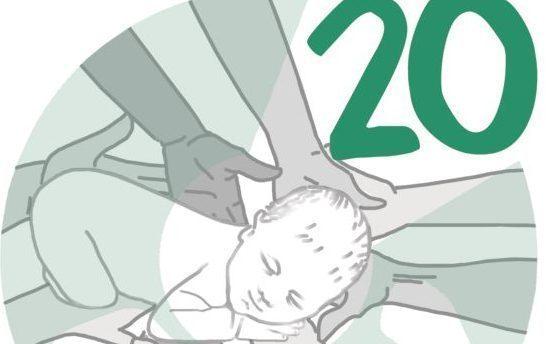 Logo Cav 20 anni